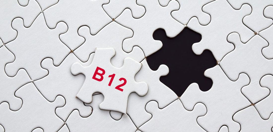 B12-mangel kan have flere årsager.