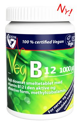 Kosttilskud med B12-vitamin